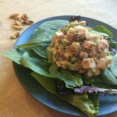 May's No-Mayo Leftover Fried Chicken Salad
