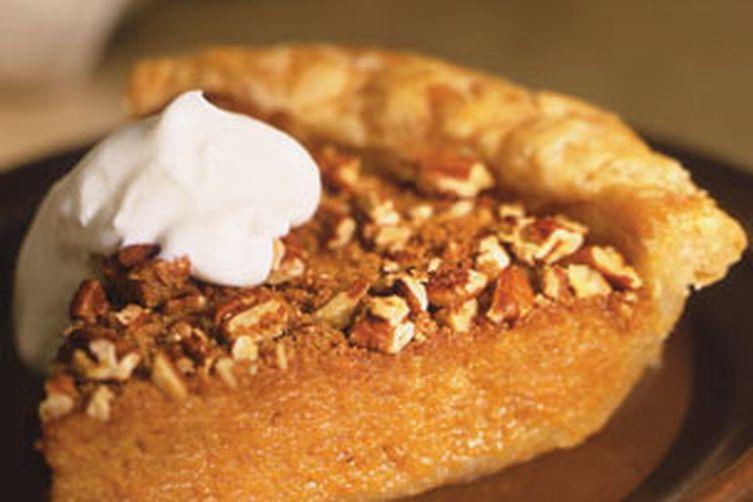 Fall Harvest Sweet Potato Pie