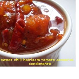 Sweet Chili Heirloom Tomato Conserve