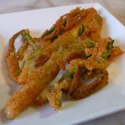 Crispy Fried Scallions