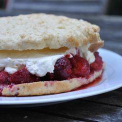 Spirited Strawberry Shortcake