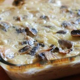 Scalloped Potato & Mushroom Gratin