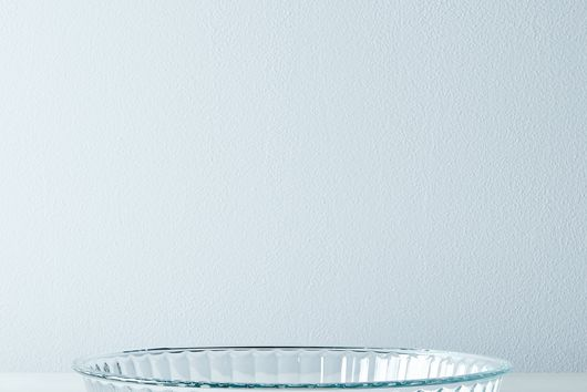 Fluted Borosilicate Glass Tart Pan