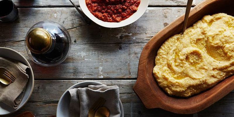 Shortcut polenta without all the standing and stirring