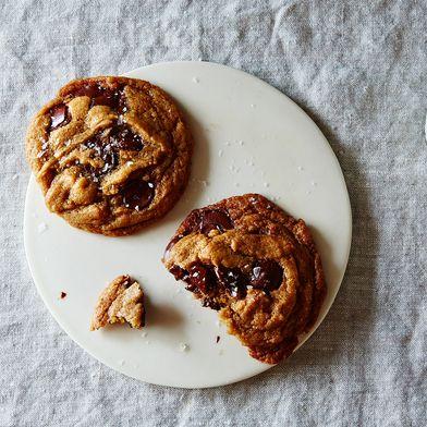 Ovenly's Secretly Vegan Salted Chocolate Chip Cookies