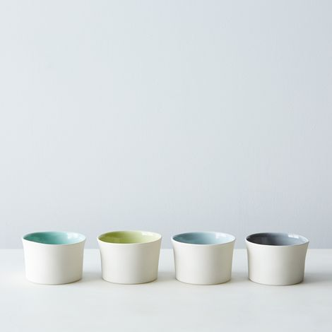 Porcelain Gelato Bowls (Sets of 2 or  4)