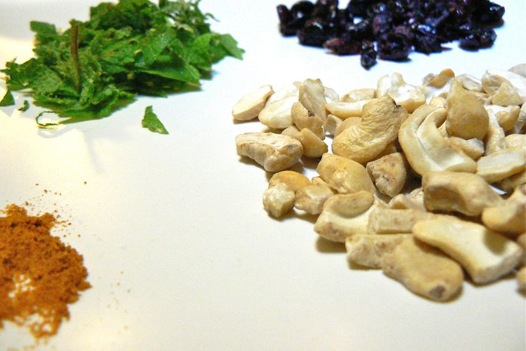 Cranberry Curry and Mint Cashew Butter