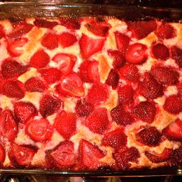Beach House Strawberry Cake
