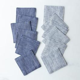 Linen Cocktail Napkins (Set of 6)