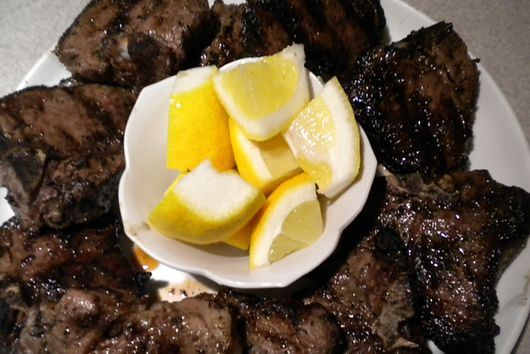 Grilled Lamb Chops - Greek Style