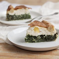 Torta Pasqualina (Easter Chard and Ricotta Pie)