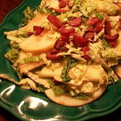 Polish Apple and Cabbage Salad