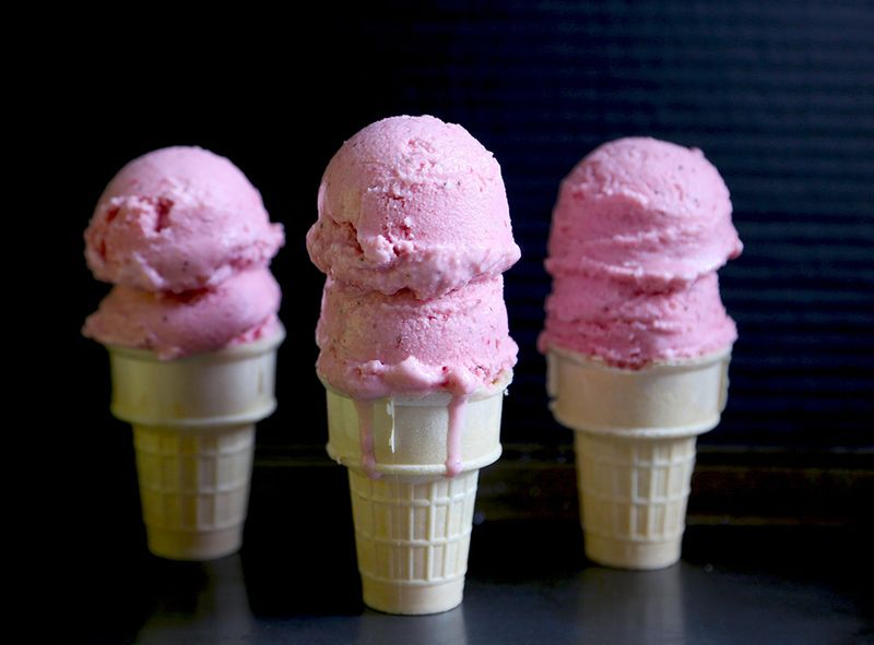 The Easiest (Strawberry-Buttermilk) Ice Cream You'll Make All Summer
