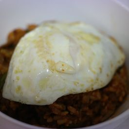 Delicious and Creamy Bibimbap!