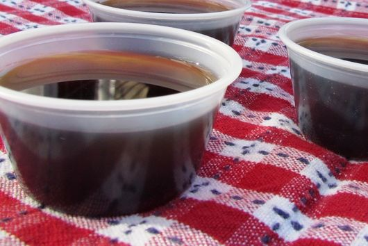 Grownup Jellied Espresso Shots