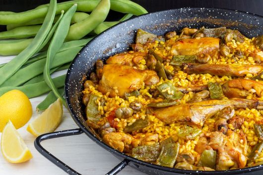 18-minute Paella Valenciana recipe (the authentic)