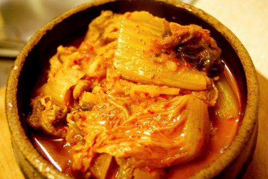 Kimchi Jjigae (Kimchi Stew) 김치찌개