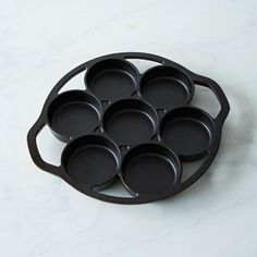 Cast Iron Drop Biscuit Pan