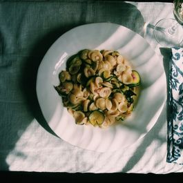 Orecchiette with Zucchini and Pancetta