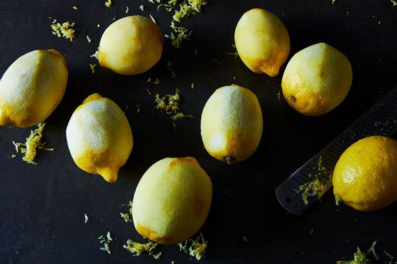 Avert your eyes! Naked lemons!