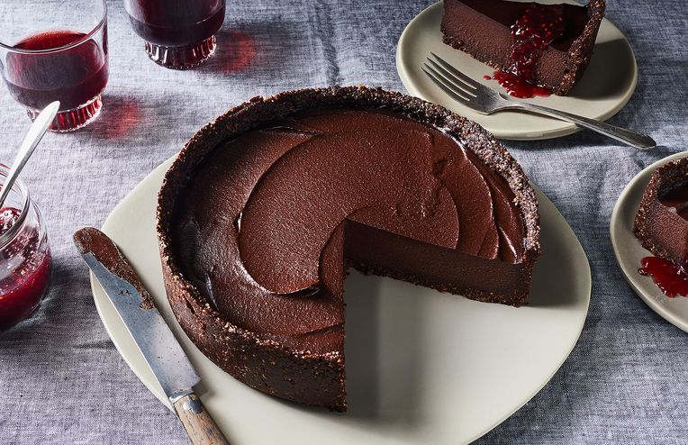 A Stunning, No-Bake Chocolate Tart That Will Steal the Show