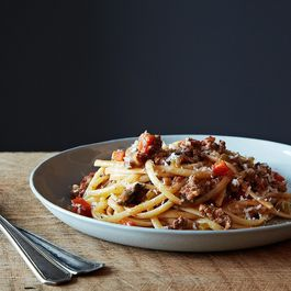 Nigel Slater's Really Good Spaghetti Bolognese