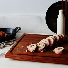Maple-Glazed Stuffed Pork Tenderloin