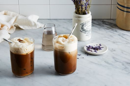 "Lavender Iced ""Lattes"""