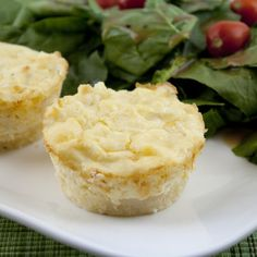 Corn and Cheddar Polenta Cheesecakes