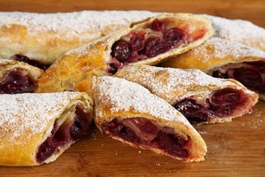 An Old Favorite: Classic Cherry Strudel