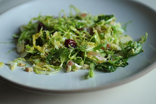 Brussels Sprout Salad onFood52