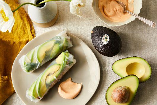 Avocado & Seared Ahi Tuna Rolls
