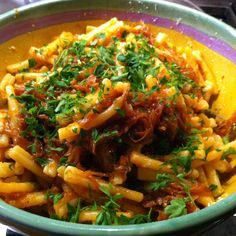 Umido di Cipolla (Pasta with Onions and Tomato)