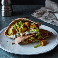 Turkey Shawarma Pitas