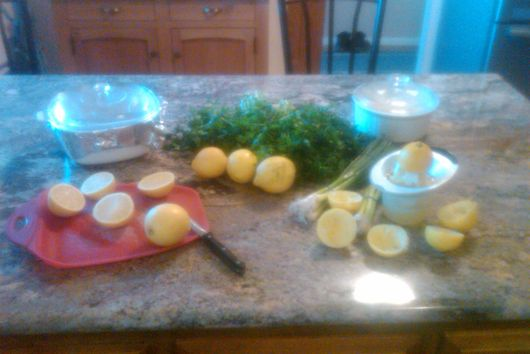 Spring Fresh Lemon and Parsley Tabouleh