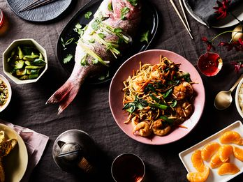 Extra-Long Noodles Star in This Lucky, Scrumptious Lunar New Year Feast