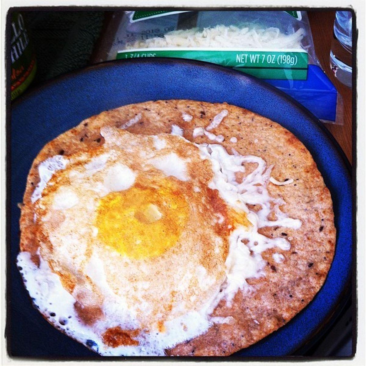 Egg On A Tortilla