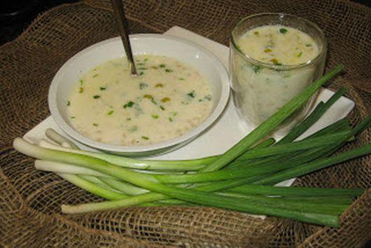 Armenian Yogurt Soup - S'pas