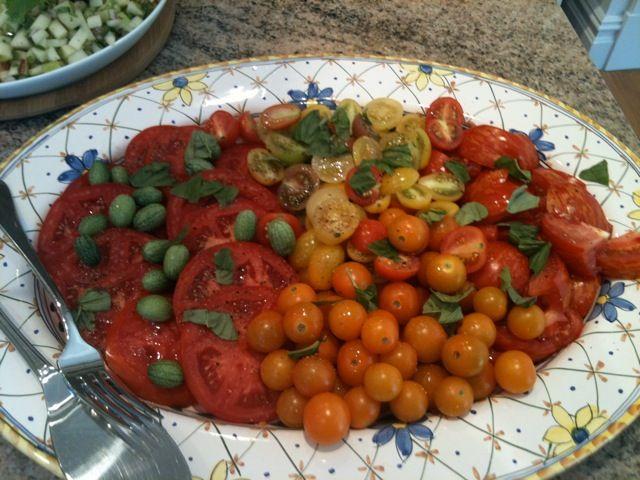 Jennifer's Tomato Salad