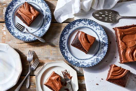 Groovy Chocolate Sheet Cake