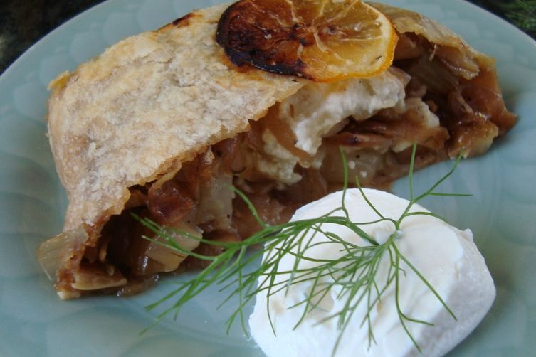 Caramelized Fennel and Onions with Feta in a Puff Pastry ...