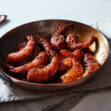 Flamin' Cajun Shrimp