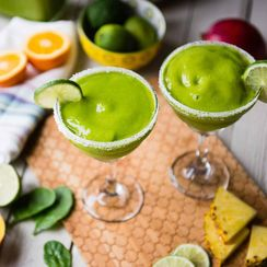 Tropical Mango-Rita Green Smoothie