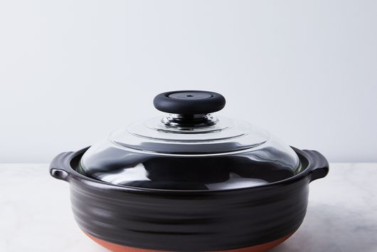 Japanese Clay Pot with Glass Lid