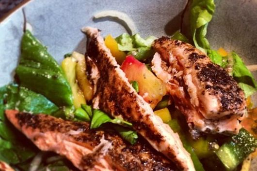 5-Spice Salmon Salad