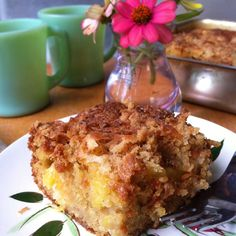 Fresh Pineapple Breakfast Cake