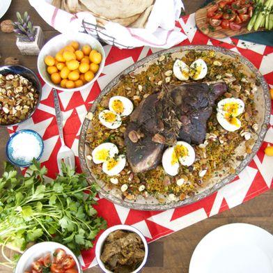 Quozi (IraqI Leg of Lamb) by Add a Little Lemon