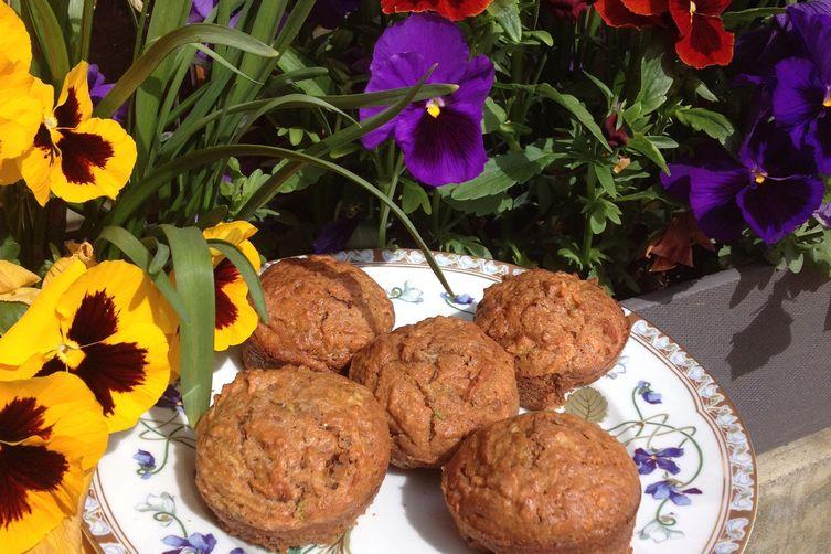 Morning Glory Spelt Muffins