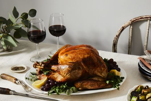 Honey and Sage Brined Roast Turkey