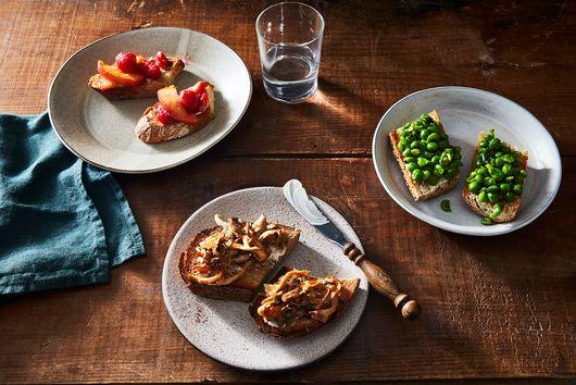 Wild Mushroom & Thyme Toast